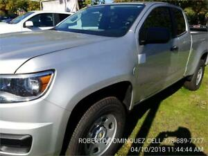 2018 Chevrolet Colorado Ext Cab 2WD Work Truck 2.5L 4 Cylinder