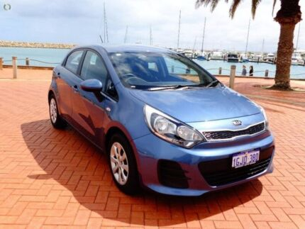 2016 Kia Rio UB MY16 S Blue 4 Speed Sports Automatic Hatchback