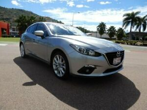 2014 Mazda 3 BM5436 SP25 SKYACTIV-MT Silver 6 Speed Manual Hatchback Townsville Townsville City Preview