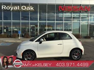 2014 FIAT 500 Sport **LEATHER AND HEATED SEATS**
