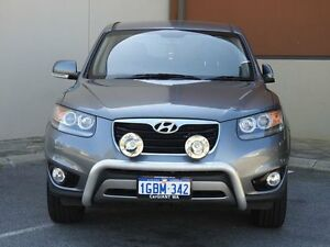 2012 Hyundai Santa Fe CM MY12 Trail CRDi (4x4) Grey 6 Speed Automatic Wagon East Rockingham Rockingham Area Preview