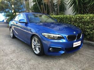 2014 BMW 220d F22 Blue 8 Speed Automatic Coupe Bowen Hills Brisbane North East Preview