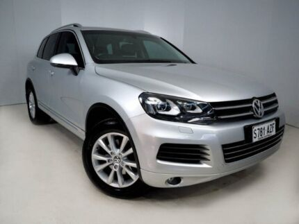 2014 Volkswagen Touareg 7P MY14 150TDI Tiptronic 4MOTION Silver 8 Speed Sports Automatic Wagon Mount Gambier Grant Area Preview