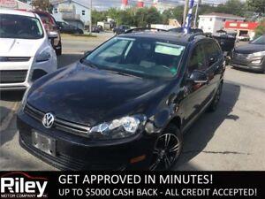 2012 Volkswagen Golf Wagon Trendline STARTING AT $112.30 BI-WEEK