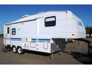 1996 Prowler 25.5 5th Wheel INCLUDES 1500.00 HITCH