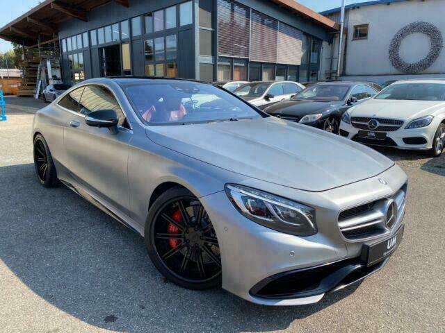 Mercedes-Benz S 63 AMG Coupe /DRIVER/BURMESTER/360/DAB/PANO