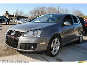 2009 VOLKSWAGEN GTI, MANUAL/6 SPD, SUNROOF, LEATHER/HEATED SEATS
