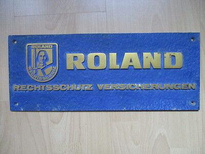 ROLAND RECHTSSCHUTZ VERSICHERUNGEN RELIEFPLATTE
