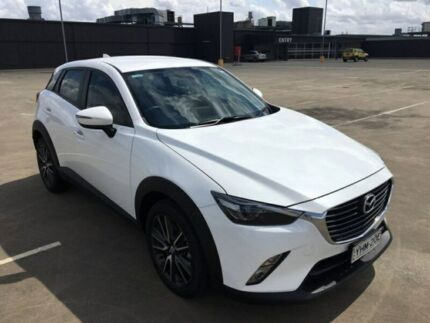 2017 Mazda CX-3 DK2W7A sTouring SKYACTIV-Drive White 6 Speed Sports Automatic Wagon Sydney City Inner Sydney Preview