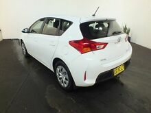 2014 Toyota Corolla ZRE182R Ascent White 7 Speed CVT Auto Sequential Hatchback Clemton Park Canterbury Area Preview