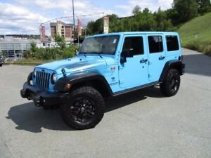 2017 Jeep WRANGLER SAHARA WINTER EDITION (ONLY 12500 KMS, NAVIGA