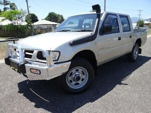 2002 Holden Rodeo TFR9 MY02 LX Gold 5 Speed Manual Crewcab Bungalow Cairns City Preview