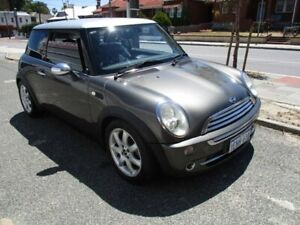 2006 Mini Hatch R50 MY05 Cooper Park Lane Grey 6 Speed Constant Variable Hatchback West Perth Perth City Area Preview