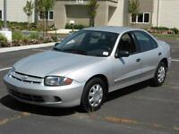 2003 Chevrolet Cavalier Sedan Certified Ready to go $2,795+taxes