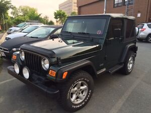 1997 Jeep Wrangler 115000km Good Condition