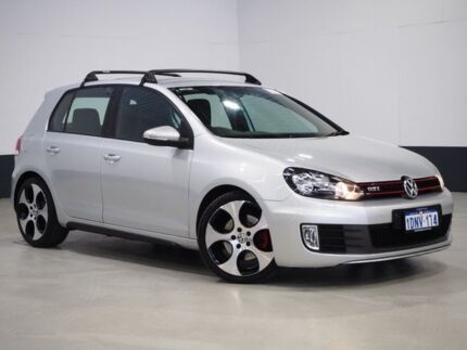 2010 Volkswagen Golf 1K MY11 GTI Silver 6 Speed Direct Shift Hatchback Bentley Canning Area Preview