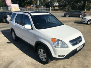 2002 Honda CR-V RD Sport Wagon 4dr Auto 4sp 4x4 2.4i White Automatic Wagon Bass Hill Bankstown Area Preview