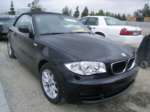 2010 BMW 1-Series Black Convertible
