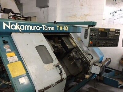 Parting Out - 1998 Nakamura Tw-10 Twin Turret Sub-spindle Live Tooling Lathe