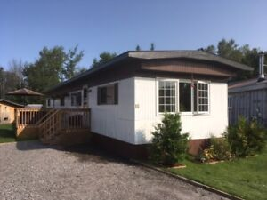 WHY  PAY RENT? MOBILE HOME IN STURGEON FALLS.