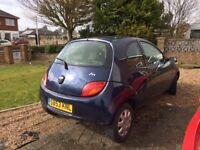 1.3l Ford KA For Sale