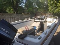 19 foot fishing boat for sale