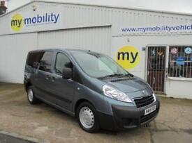 Peugeot Expert Tepee 5 Seat Wheelchair Scooter Access WINCH WAV. ONLY 2000 MILES