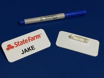 Jake State Farm Name Tag Great for Halloween Costume! - Capital Halloween Costumes