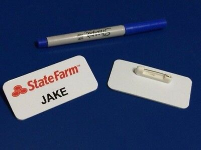 Jake State Farm Name Tag Great for Halloween Costume!](Tags For Halloween)