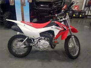 2018 Honda CRF110F - Demo Bike with Full Warranty!
