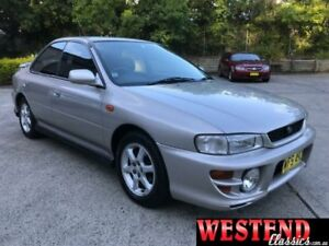 1999 Subaru Impreza MY00 RX (AWD) Silver 4 Speed Automatic Sedan Lisarow Gosford Area Preview
