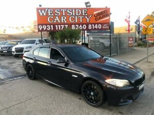 2011 BMW 535d F10 MY12 Blue 8 Speed Automatic Sedan Hoppers Crossing Wyndham Area Preview