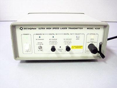 Jds 420b-25st 420b Ultra High Speed Laser Transmitter Fiber Optic
