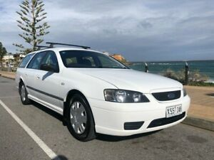2005 Ford Falcon BF XT White 4 Speed Sports Automatic Wagon Christies Beach Morphett Vale Area Preview