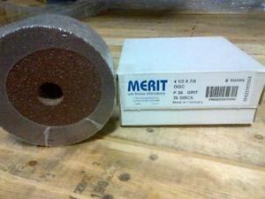 36Grit 4-1/2??? Sanding Discs - Boxes of 25pcs