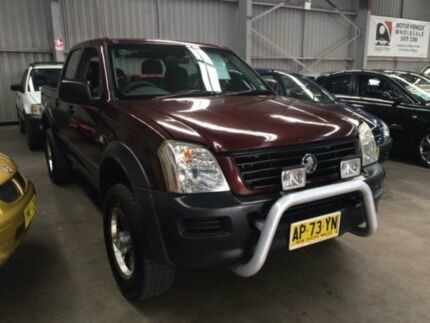 2003 Holden Rodeo RA LX Burgundy 5 Speed Manual Crewcab Macquarie Hills Lake Macquarie Area Preview