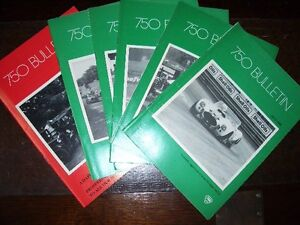 Motor Sport 750 Motor Club monthly bulletins for 1986 - Ipswich, United Kingdom - Motor Sport 750 Motor Club monthly bulletins for 1986 - Ipswich, United Kingdom