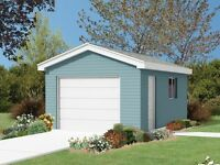 Garage in Copperwood: Single or Double for Vehicle