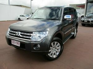 2011 Mitsubishi Pajero NT MY11 Exceed Grey 5 Speed Sports Automatic Wagon Toowoomba Toowoomba City Preview