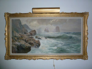 """OIL PAINTING ON CANVAS Signed """"Guido Odierna"""" - REDUCED"""