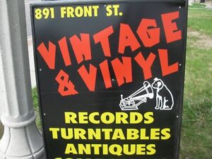 OPEN 11AM to 6PM! Vintage and Vinyl Records 891 Front Rd LaSalle
