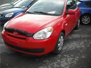 2010 HYUNDAI ACCENT RED