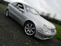 2001 Mercedes-Benz C230 Kompressor 2.3 Sport C CLASS COUPE AUTO 3 DOOR