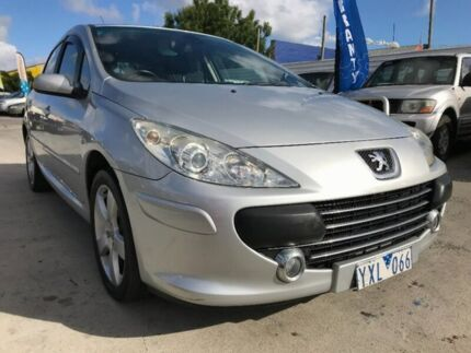 2007 Peugeot 307 T6 XSE Silver 4 Speed Sports Automatic Hatchback