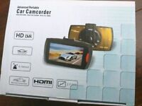 Car Dash Cam 1080p camcorder NEW with 8GB micro SD Card