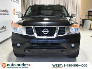 2014 Nissan Armada Platinum 4WD; Nav, Backup Cam, Leather, Heate