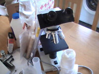 Equine Worm Egg Count Kit and all accessories (hydrometer, mcmaster slides, top spec microscope etc)