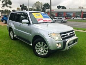 2007 Mitsubishi Pajero NS Exceed Silver 5 Speed Sports Automatic Wagon Ferntree Gully Knox Area Preview