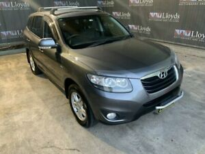 2011 Hyundai Santa Fe Silver 6 Speed Automatic 4-Door SUV Carrara Gold Coast City Preview