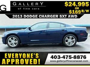 2013 Dodge Charger SXT AWD $169 bi-weekly APPLY NOW DRIVE NOW